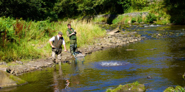 Fishing in The River Esk